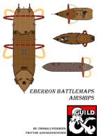 Eberron Battlemaps - Airships