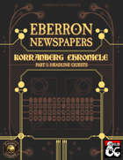 Eberron Newspapers: Korranberg Chronicle | Part 1 - Quests (Fantasy Grounds)