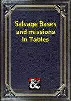 Salvation bases and missions in tables