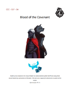 CCC-ELF-04 Blood of the Covenent