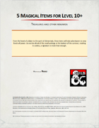 5 Magical Items Level 10+
