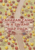 Caravan camp in a swamp map pack