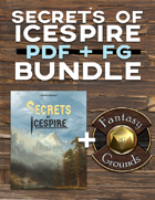 Secrets of Icespire PDF + FG [BUNDLE]
