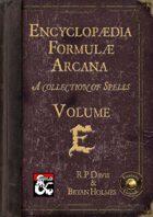 Encyclopaedia Formulae Arcana - E (Fantasy Grounds)
