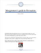 Morgenstern's guide to Divination