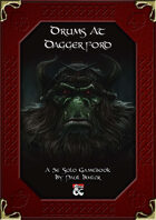 D&D Solo Adventure: Drums at Daggerford