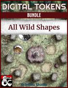 Digital Tokens: Wildshape [BUNDLE]