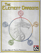 The Elemental Dragons: Periodic Table entries 1-5.