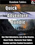 Quick Adventure Bundle - Random Tables for Adventures [BUNDLE]