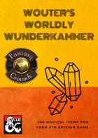 Wouter's Worldly Wunderkammer (Fantasy Grounds)