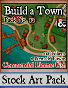 Build a Town - Stock Art Pack