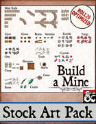 Build a Mine - Stock Art Pack