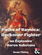 Paths of Ravnica: Boros Reckoner Fighter