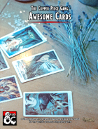 DM Supplement: Awesome Cards (for print or VTT)