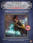 """Sarayath's Magical Compendium Collection"" [BUNDLE]"