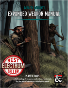 Expanded Weapon Manual