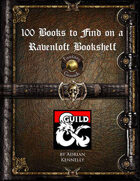 100 Books to Find on a Ravenloft Bookshelf (Fantasy Grounds)