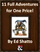 11 Adventures for One Price! [BUNDLE]
