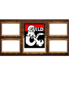 TTRPG Streaming Overlay - Wood and Scroll
