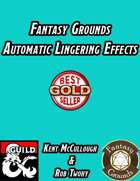 Fantasy Grounds Automatic Lingering Effects