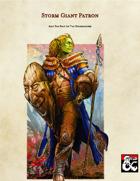 Storm Giant Warlock Patron