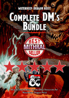 Waterdeep: Dragon Heist Complete DM's Bundle PDF & FG [BUNDLE]