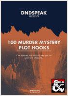 100 Murder Mystery Plot Hooks