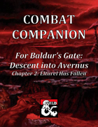 Combat Companion for Baldur's Gate: Descent into Avernus. Chapter 2.