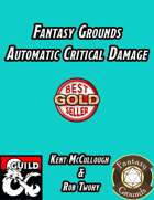 Fantasy Grounds Automatic Critical Damage