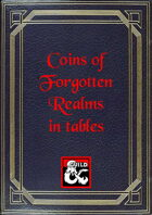 Coins of Forgotten Realms in tables