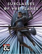 Subclasses of the Planes