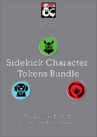 Sidekick Character Token Bundle
