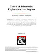 Ghosts of Saltmarsh : Exploration Hex Engines