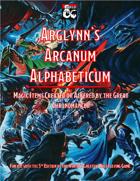 Arglynn's Arcanum Alphabeticum
