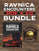 Ravnica Encounters PDF + FG [BUNDLE]