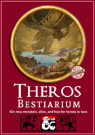 Theros Bestiarium - 72 New Monsters for your Theros Campaign