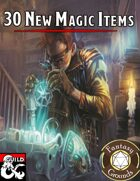 30 New Magical Items (Fantasy Grounds)