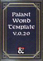 Palant Word Template