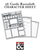 5E Character Sheet - Curse of Strahd - Castle Ravenloft