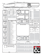 5E Simplified Character Sheet Bundle