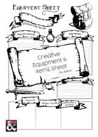 Character Equipment Sheet