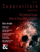 Supervillain Quarterly, Vol I, Issue 1