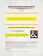 Mcgovern Solo adventure 1