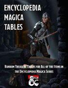 Encyclopedia Magica Tables