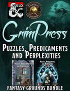 FANTASY GROUNDS Puzzles, Predicaments, Perplexities [BUNDLE]