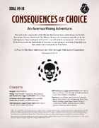 DDAL09-18 Consequences of Choice