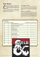 Red Mage for 5e