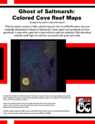 Ghosts of Saltmarsh: Cove Reef Fully Colored Maps