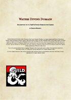 Waters Divine Domain - D&D 5e