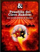 Pesadilla del Circo Rakdos: los sueños fatales de ravnica